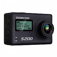 "Экстремальная экшн-камера SOOCOO S200 Black 2.45"" спортивная Wi-Fi Ultra HD 4K microSD Батарея 1250 мАч, фото 8"
