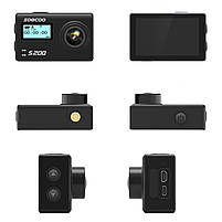 "Экстремальная экшн-камера SOOCOO S200 Black 2.45"" спортивная Wi-Fi Ultra HD 4K microSD Батарея 1250 мАч, фото 10"