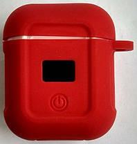 Навушники Hoco S11 White + Red silicone, фото 3