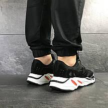 Чорні чоловічі кросівки замзамша підошва піна 15\7839, фото 3