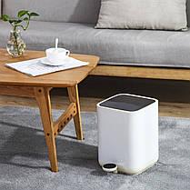 Відро для сміття Nordic Style JAH 5 л (колір білий, внутрішнє відро), фото 2