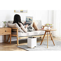Відро для сміття Nordic Style JAH 5 л (колір білий, внутрішнє відро), фото 3
