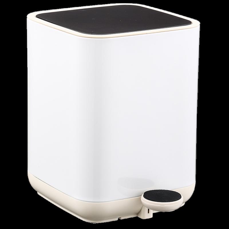 Відро для сміття Nordic Style JAH 5 л (колір білий, внутрішнє відро)
