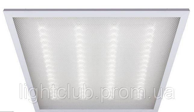 LED панель светодиодная 4200К 36вт 3400лм. 595x595 IP20 призма Lezard