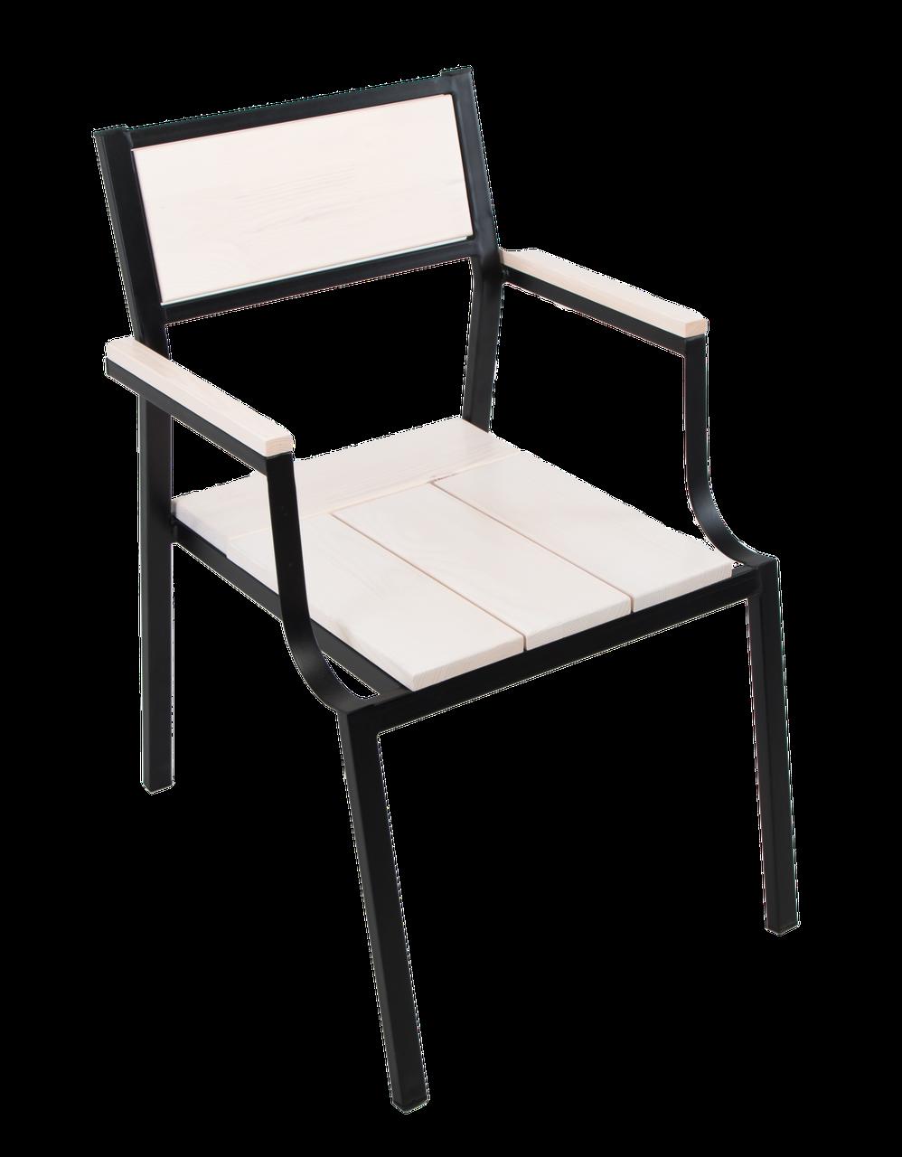"""Кресло для кафе Микс-Лайн """"Бристоль"""" Белый"""