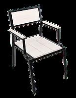 """Кресло для кафе Микс-Лайн """"Бристоль"""" Белый, фото 1"""