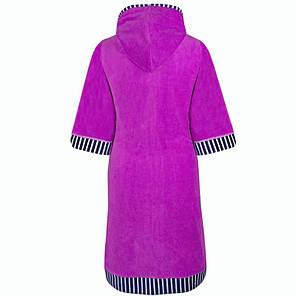 Халат теплый велюровый с карманами, фото 2