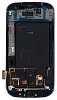 Матрица с тачскрином модуль для Samsung Galaxy S3 GT-i9300 синий