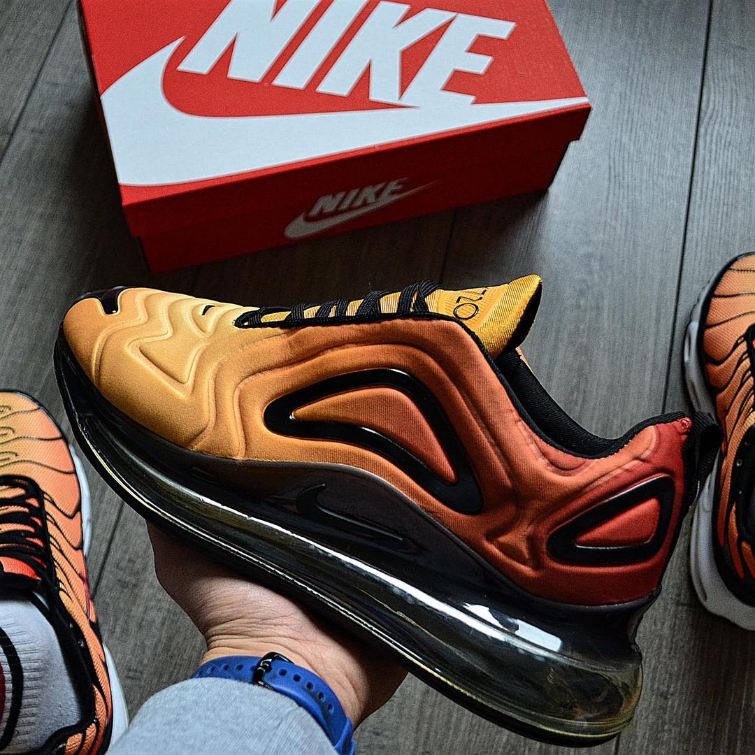 Чоловічі кросівки Nike Air Max 720 'Схід' . Живе фото. Топ репліка