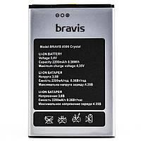 Аккумулятор АКБ Bravis A506 Crystal (Li-ion 3.8V 2200mAh) Оригинал Китай