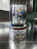 Бутилкаучукова стрічка Logic Tape Коричневий 50мм /10м, фото 1
