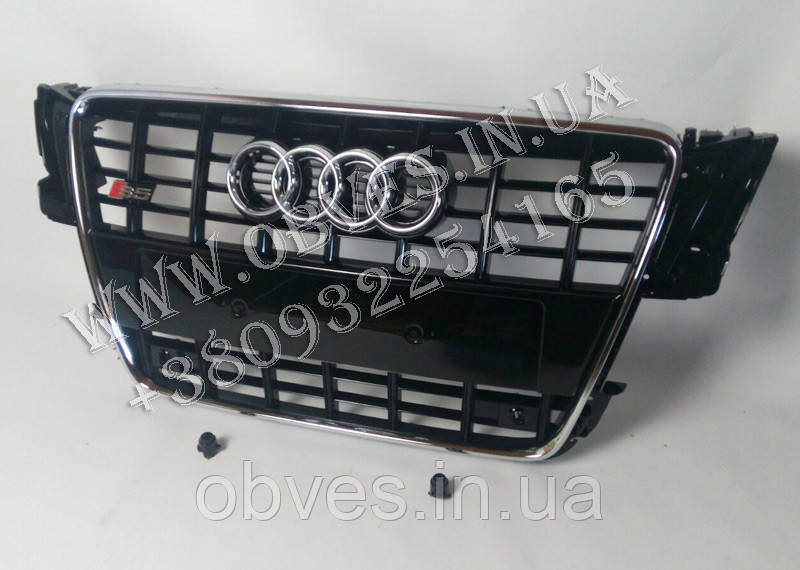 Решетка радиатора Audi A5 в стиле S5 (2007-2011)