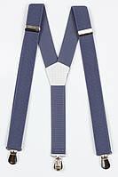 Подтяжки подростковые узкие Y25 Top Gal светлый джинс однотонные цвета в ассортименте, фото 1