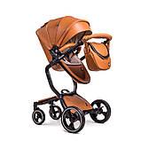 Сумка з екошкіри для колясок  Ninos A88, Brown, фото 2