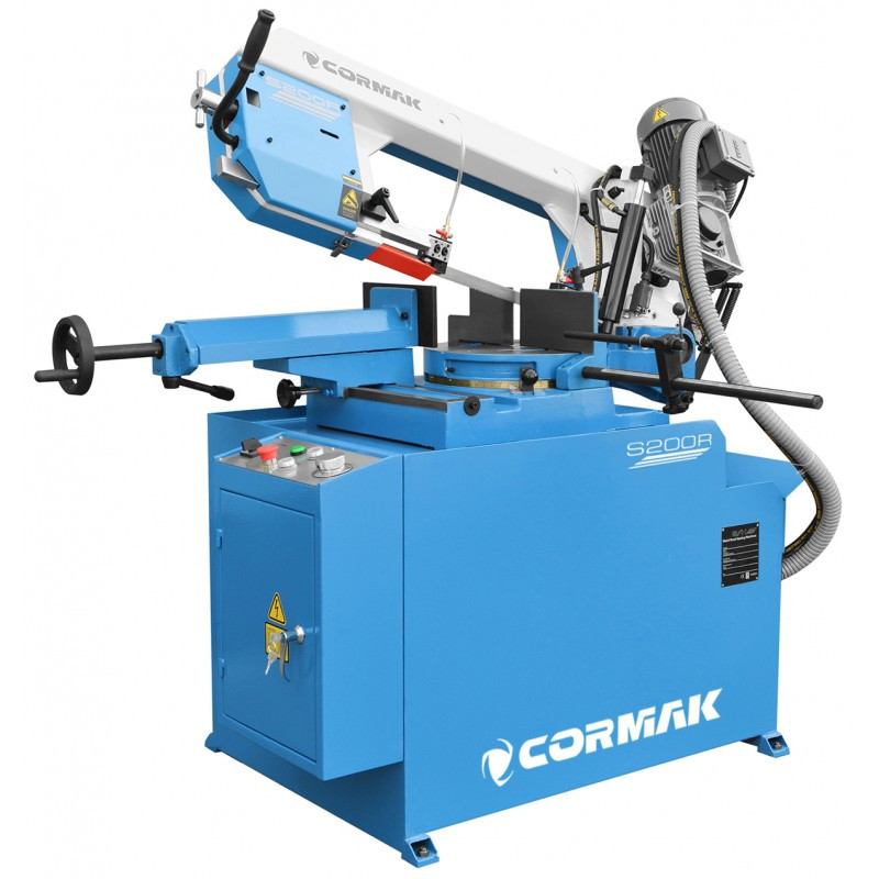 Стрічкопильний верстат Cormak S-200R Manual