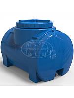 """Емкость горизонтальная однослойная RGO 100 литров (70x45x45) диаметр люка 35 см, штуцер 1/2"""""""