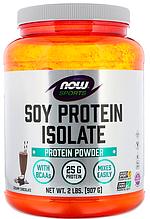 Соєвий протеїн ізолят, Now Foods, Soy Protein Isolate, 910 грам
