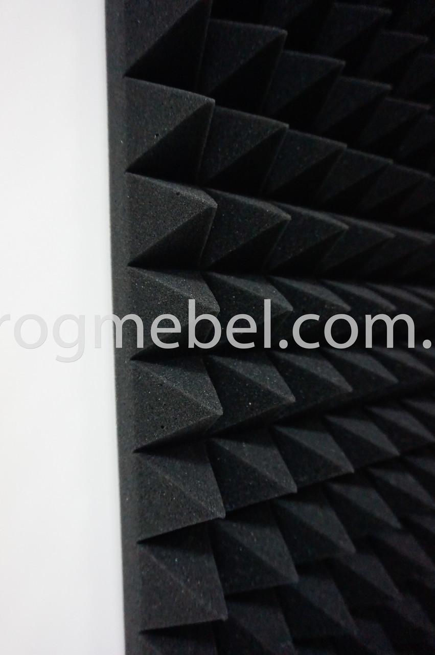 Плита акустическая пирамида50см*50см, 7см