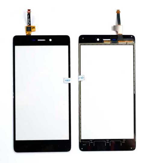 Тачскрин (сенсор) Xiaomi Redmi 3 телефона черный (black)