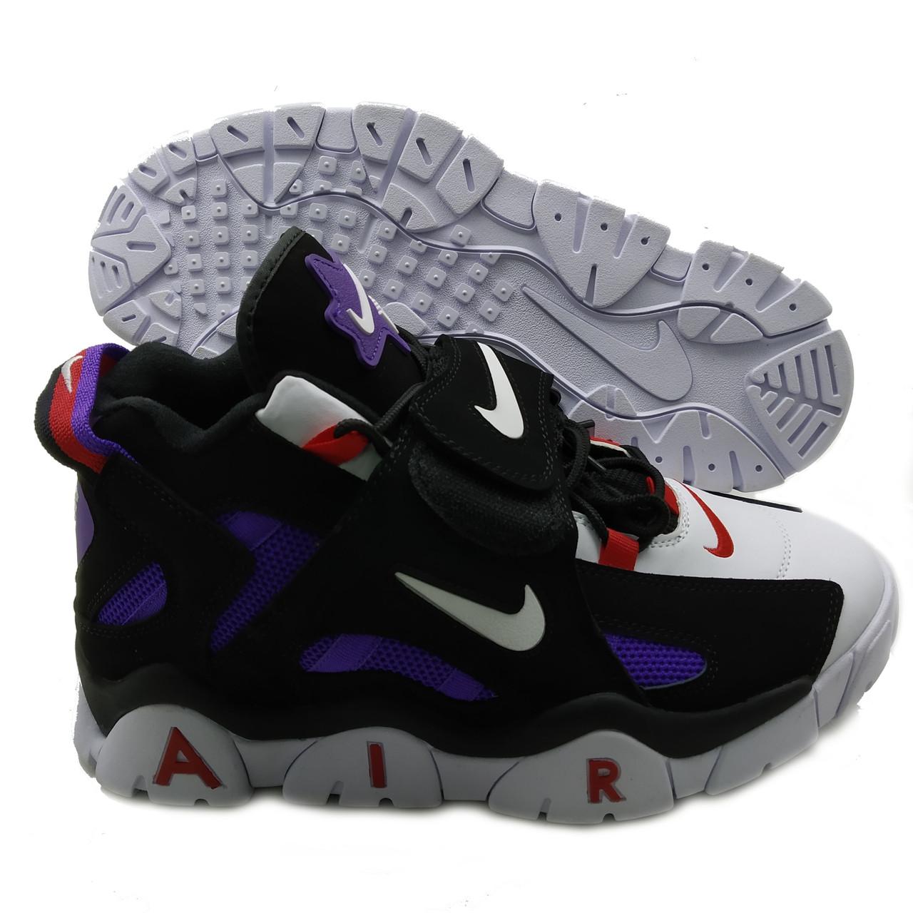 Кроссовки мужские Nike Air Barrage черно-фиолетовый