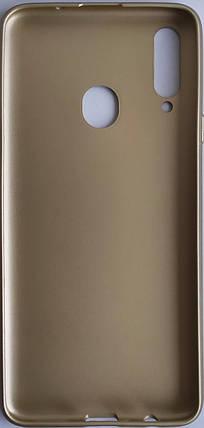 Силиконовый чехол Rock для Samsung Galaxy A207 / A20S Gold, фото 2
