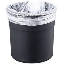 Ведро для мусора Nordic Style JAH 5 л (цвет металлик, внутреннее ведро), фото 2