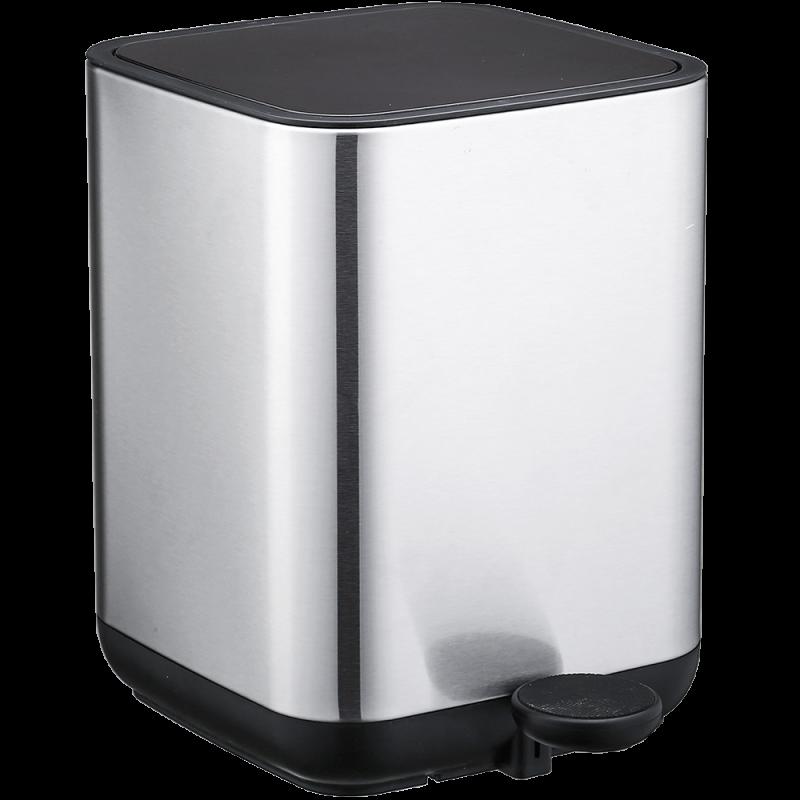 Ведро для мусора Nordic Style JAH 5 л (цвет металлик, внутреннее ведро)
