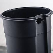 Ведро для мусора Nordic Style JAH 5 л (цвет металлик, внутреннее ведро), фото 3