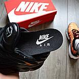 "Мужские кроссовки Nike Air Max Tn+ plus ""Triple black"". Топ качество! Живое фото (Реплика ААА+), фото 5"