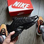 "Мужские кроссовки Nike Air Max Tn+ plus ""Triple black"". Топ качество! Живое фото (Реплика ААА+), фото 2"