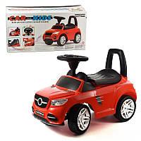 Машина-каталка MB, цвет: красный, с электроникой