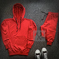 Спортивный костюм мужской Bassic x ALL red | осенний весенний ТОП качество, фото 1