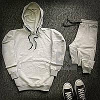 Спортивный костюм мужской Bassic x ALL grey | осенний весенний ТОП качество, фото 1