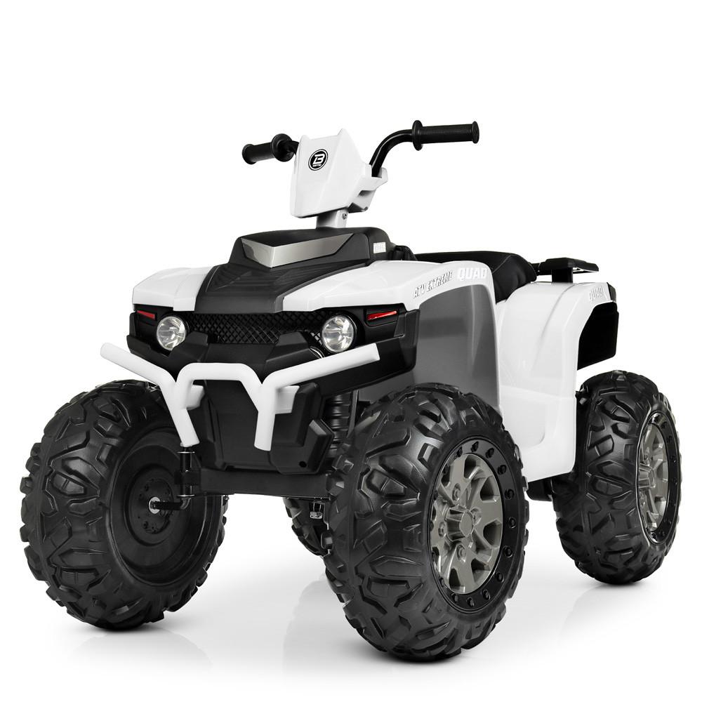 Детский электрический квадроцикл Bambi M 4246EL-1 белый