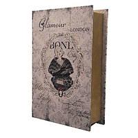 """Книга-сейф  """"Гламур"""" книга тайник в твердом переплете"""