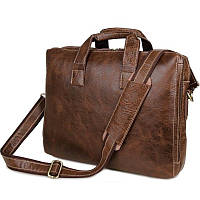 Кожанная мужская сумка портфель Classic 7167C, фото 1