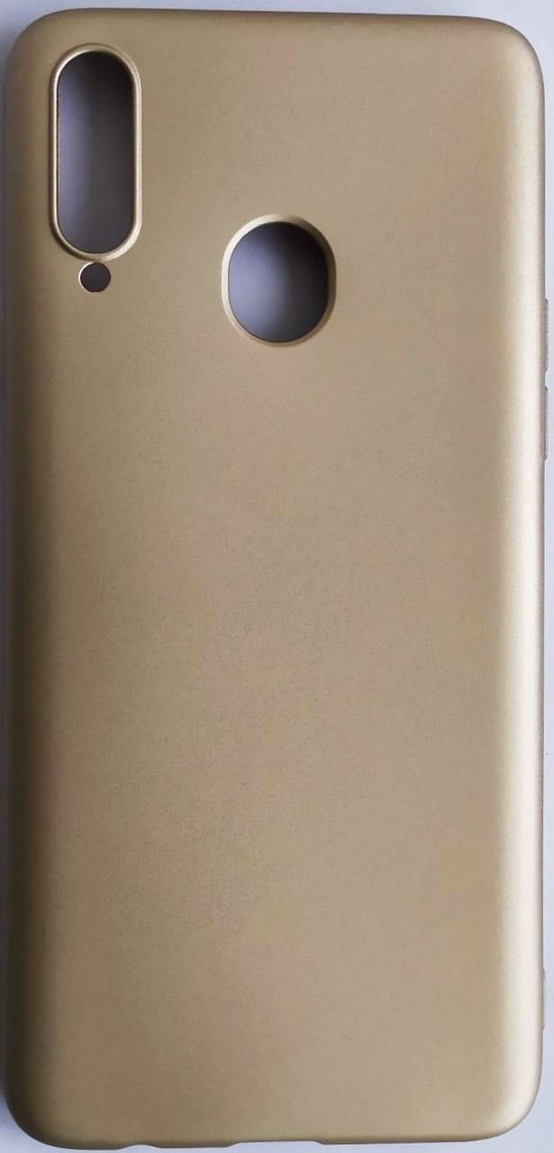 Силиконовый чехол Rock для Samsung Galaxy A207 / A20S Gold