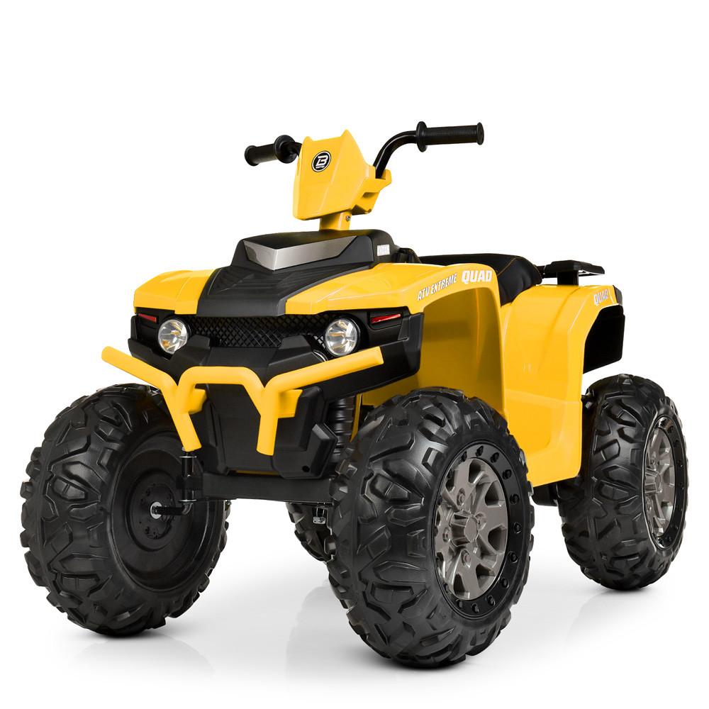Детский электрический квадроцикл Bambi M 4246EL-6 желтый