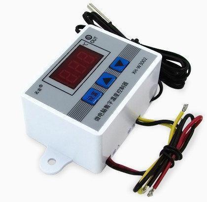 Терморегулятор цифровой XH-W3002 (нагрев / охлаждение) 12V/120W