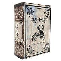 """Сейф-книга """"Grand Torino"""" книга тайник в твердом переплете Размеры: 15,7-22-7 см"""