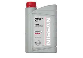 Моторное масло Nissan Motor Oil 5W40 (1л) Оригинальное