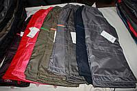 Демисезонные брюки на флисе, цвета разные