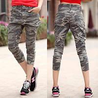Камуфляжные летние брюки