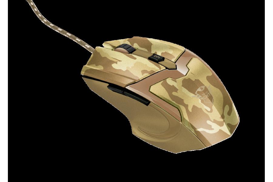 Миша Trust GXT 101D Gav Optical Gaming Mouse Desert Camo (22794) (519218)
