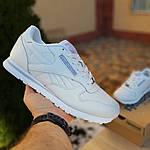 Мужские кроссовки Reebok Classic (белые) 1986, фото 6