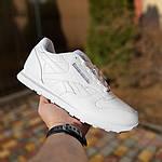 Мужские кроссовки Reebok Classic (белые) 1986, фото 9