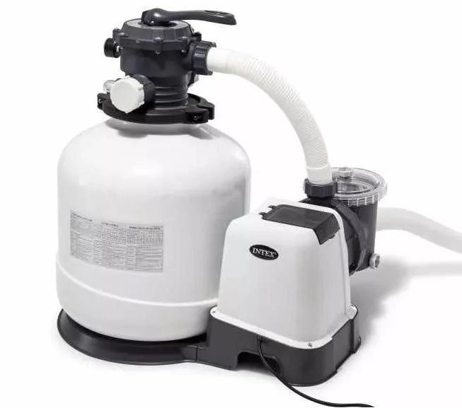 Пісочний фільтр-насос для басейну Intex 26646 , 7,9м3/год, резервуар для піску 23кг