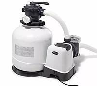 Песочный фильтр-насос для бассейна Intex 26646 , 7,9м3/ч, резервуар для песка 23кг
