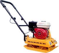 Виброплита HONKER HP-C60H (двигатель Honda GX160)