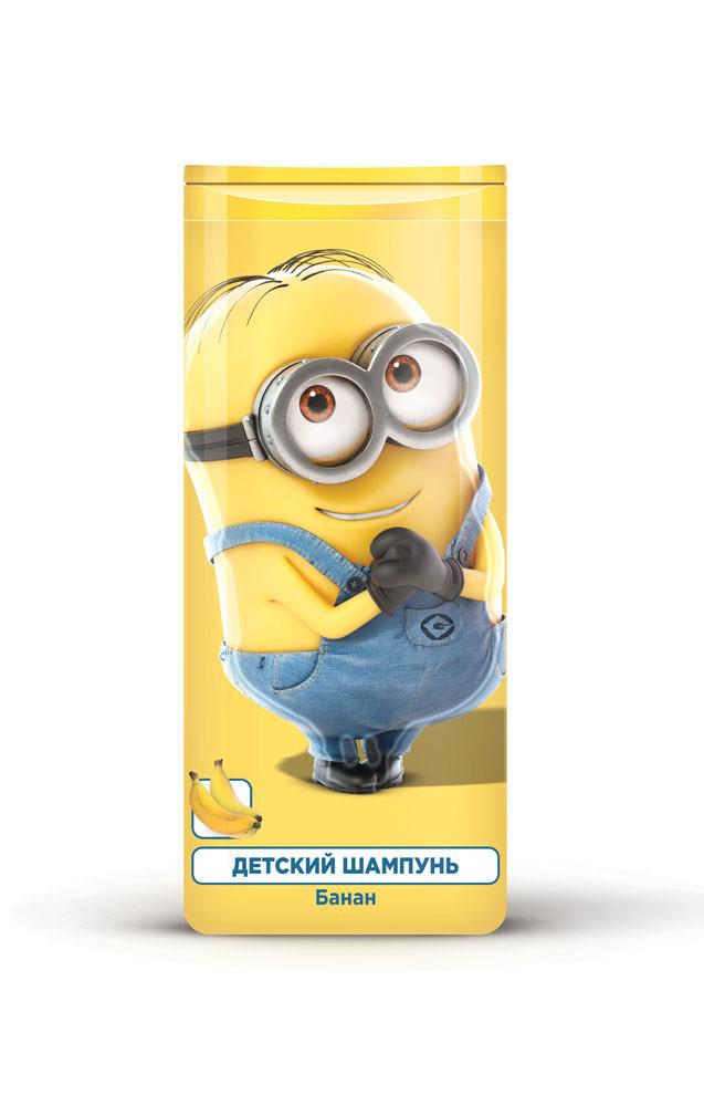 """Шампунь для волос Гадкий Я """"Банан"""", детский, 250 мл"""